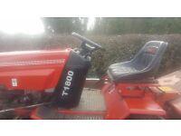 Westwood ride on mower 1800 twin petrol spares or repair