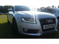 2009 Audi A5 3.0L V6 TDI Quattro Sport Coupe 242 bhp Full leather
