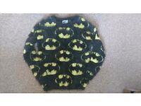 Ladies Batman logo eyelash jumper size 8