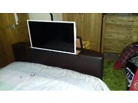 Storage bed with tv