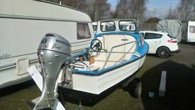 Mayland 14 Boat, Engine and Trailer