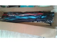 Mens joblot of umbrelles for golf or fishing or just for rainy days