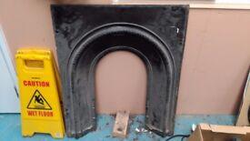 Cast iron fireplace surround / frame