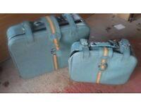 2. suitcases
