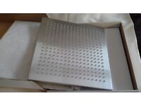 12 INCH SQUARE DRENCH SHOWER HEAD STAINLESS STEEL