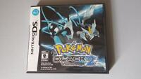 Pokemon Black 2 DS Replacement Case - No Game Included
