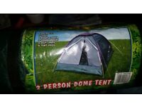 2 man tent for sale great for festival season