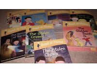 Childrens oxford reading tree books stage 3 through 14