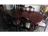 Mcdonagh fine furniture dining table and chairs