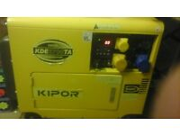 Nearly new perfect condition diesel generator