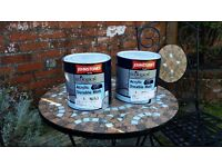 2xJohnstone's paint in Farrow and Ball colours