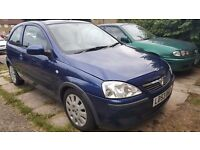 Vauxhall Corsa,Automatic, Low Millage 48K, 1L Engine very cheap to run.