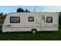 Bailey Pageant Provance 2005 5 berth single axle touring caravan with awning and motor mover £5495
