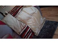 Beautiful Fully Lined Curtains, 2 sets, one pair 56x86 inch & 56x 56 - immaculate condition