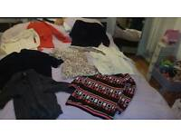Ladies size 12 -14 jumpers & cardis