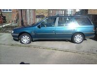 Peugeot 405 td estate, cheap bargain car, STILL FOR SALE.