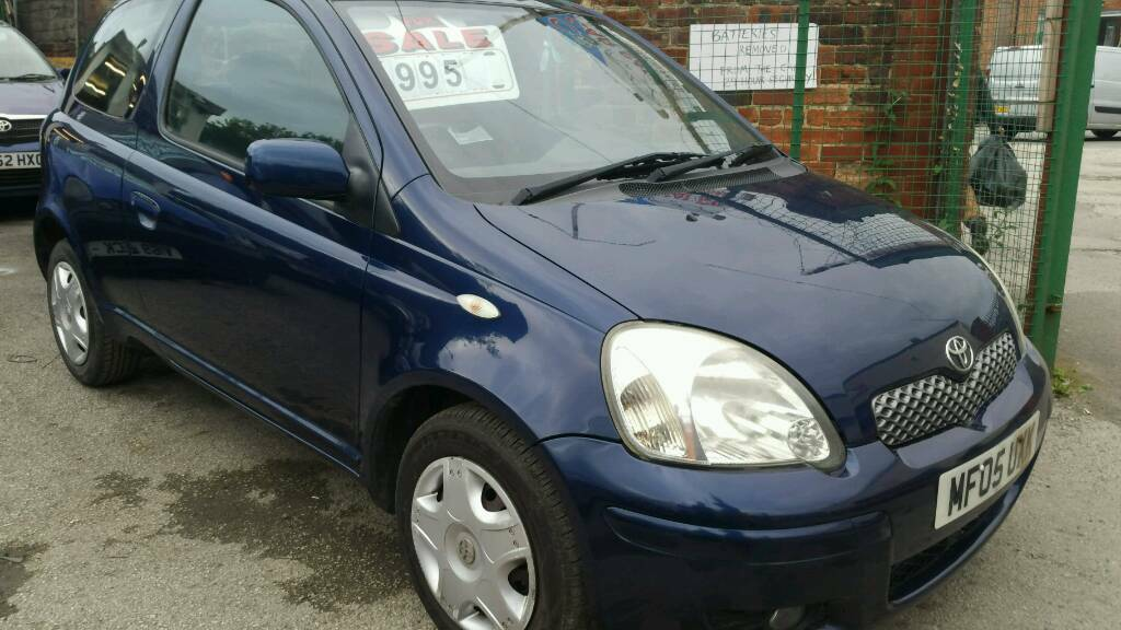 TOYOTA YARIS 1.0 LOW MILEAGE PX POSSIBLE