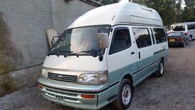 TOYOTA HIACE HIGH TOP FRESH IMPORT 4 BERTH CAMPERVAN 4WD Cruising Cabin Auto
