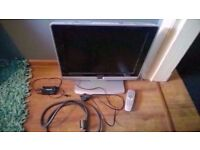 Philips 20HF5474/10 TV with scaler converter (20 inch)