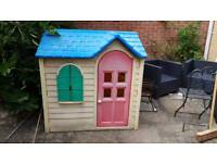Little Tikes plastic play house