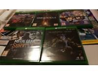 Bundle of 5 Xbox One Games