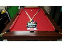 Pool Table 7x4 ft