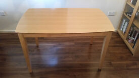 Wood Veneer Dining Table - Excellent Condition