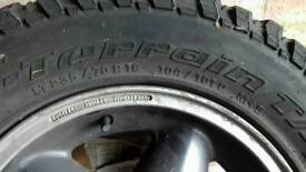 Mud Tyres for Land Rover Discovery