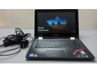Lenovo Yoga 300 Convertible Touchscreen laptop/Tablet/ 11.6 Inch/ White