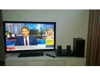 LG tv 42 inches + LG Home cinema selling