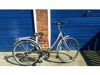 Ladies town bike is