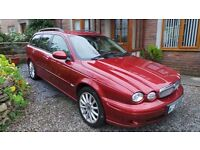X Type Jaguar Estate 2.0 SD. 57 Plate