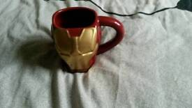 Marvel DC comics superhero iron man mug