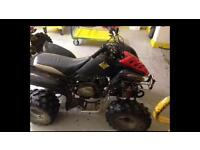 125cc quad needs work swaps