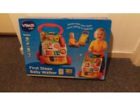 Vtech first steps baby walker - brand new in box