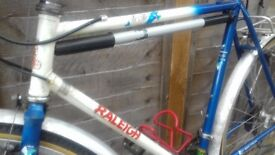 Hand-built Raleigh - de Ville tourer bicycle 21 x 1 and 1/4 frame