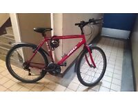 """Mountainbike in good condition, 26"""" wheels, 15 speed Shimano"""