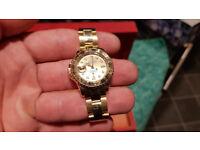 18 ct yellow Gold Ladys Rolex Yacht Master Watch