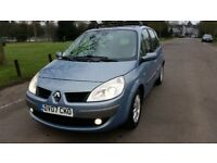 2007 Renault Scenic 2.0 dCi Privileg 5dr 1Former Keeper Full Service History HPI Clear @07725982426@
