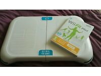 Wii fit plus game & Gameon Fit board