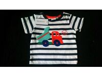 NEW baby boy items. With tags. Newborn, 0-3m + 3-6m. Top, sleepsuit, shoes, trousers,