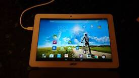Acer Iconia B3-A20, 10-inch Tablet, Quad Core, 1GB RAM, 16GB - White with Case