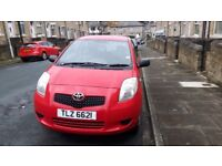 2007 toyota yaris 1.0 vvti petrol (long mot may 2018)