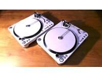 Pair of Reloop RP-6000 MK6 LTD professional DJ Turntables