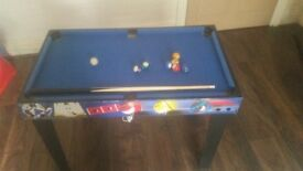Snooker tabel and football tabel very good condation only £ 30