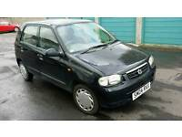 Suzuki alto 04 31.000 nearly 6 mth mot freat little car
