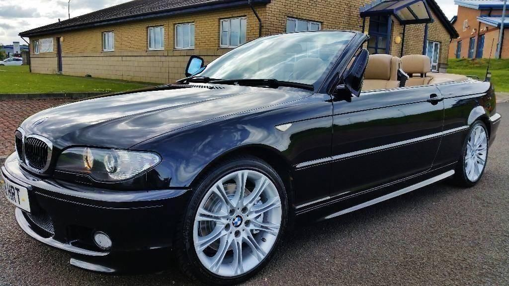 automatic bmw e46 330 ci convertible m sport looks stunning in black part ex welcome in. Black Bedroom Furniture Sets. Home Design Ideas