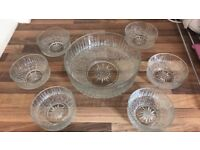 Trifle bowl set