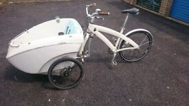 Cargobike Triobike - in used condition for DIY enthusiasts