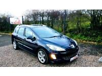 2009 Peugeot 308 sw Sport Estate 1.6 - fsh - FINANCE £75 per month